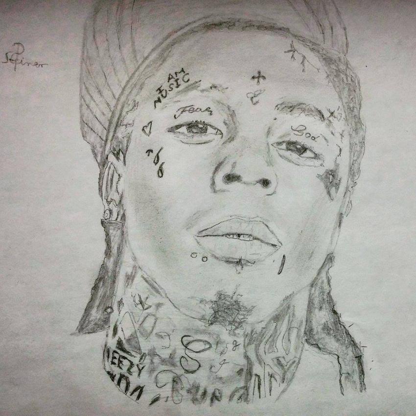 Lil Wayne by psteinerart